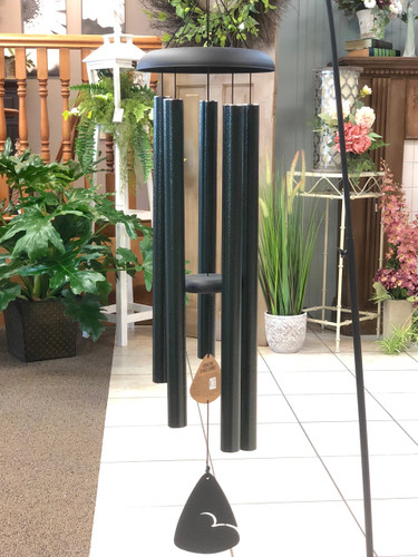 "Wind Chime 44"" Solid Color. Available in Red, Green & Blue. (LOCAL DELIVERY ONLY) Stand not included"