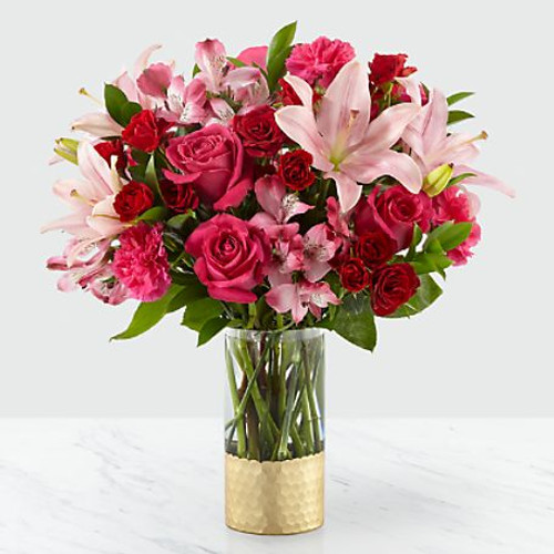 Be My Beloved Romance and Anniversary Bouquet
