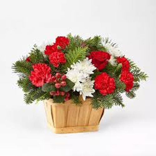 Good Tidings Floral Basket