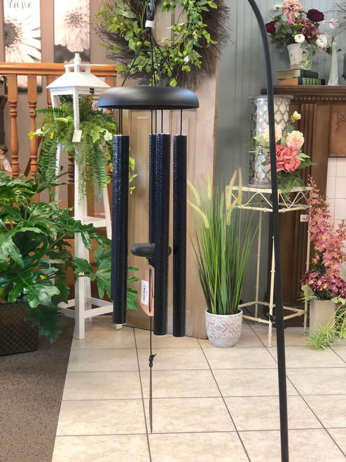 "Wind Chime 30"" Solid Colors. Available in Red, Green & Blue. (LOCAL DELIVERIES ONLY) Stand not included"