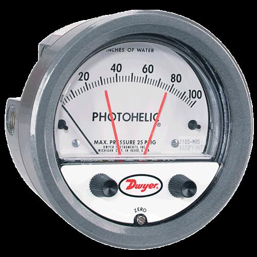 Dwyer Instruments 3000MRS-250PA PHOTOHELIC