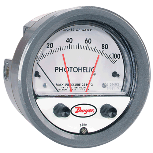 Dwyer Instruments 3008-OLS PHOTOHELIC
