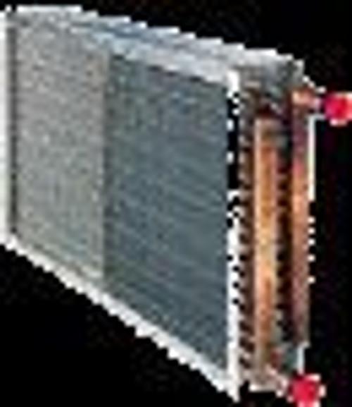 Magic Aire 375-451901-XXX, 60-HRH - 2 ROW HOT WATER COIL