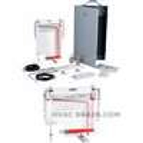 """Dwyer Instruments 400-5-L-KIT, Air velocity meter, 0-5"""" wc, 400-9000 FPM velocity, 18"""" Pitot tube"""