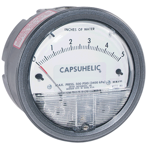 Dwyer Instruments 4000-15KPA CAPSUHELIC GAGE