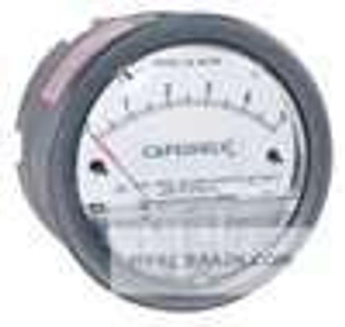 "Dwyer Instruments 4006, Differential pressure gage, range 0-60"" wc"