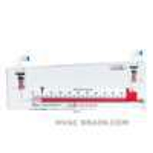 """Dwyer Instruments 452-AF, Inclined air filter gage, range 0-2"""" wc, 8"""" inclined scale, 2 psi max pressure"""