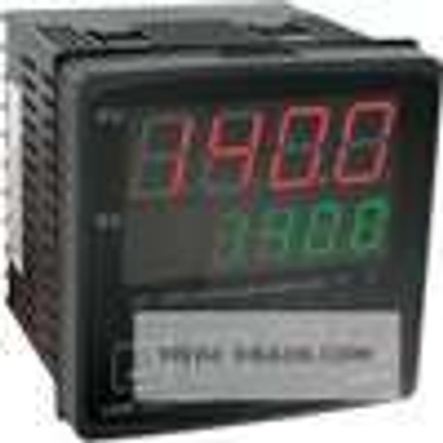 Dwyer Instruments 4B-23, 1/4 DIN temperature/process controller, (1) voltage pulse output and (1) relay output