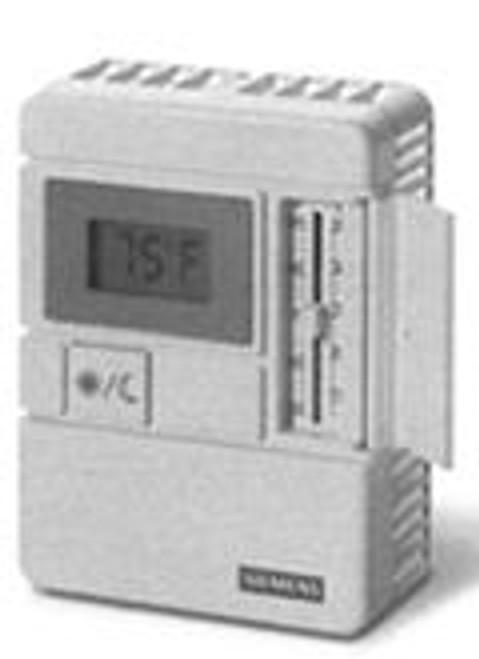 Siemens 540-680FB, Tec Rm Snsr-W/Stpt,Ind,Ovrd,Wh