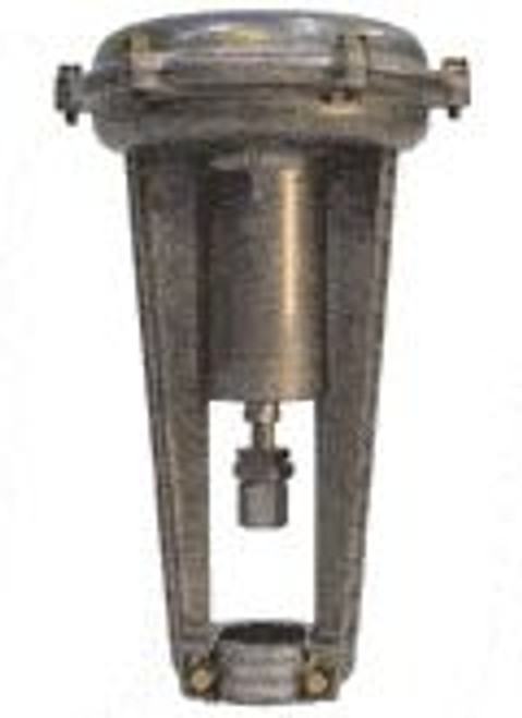 Siemens 599-01050, Valve Actuator, Pneumatic, 8-inch, 5 psi span, 3/4 in stroke