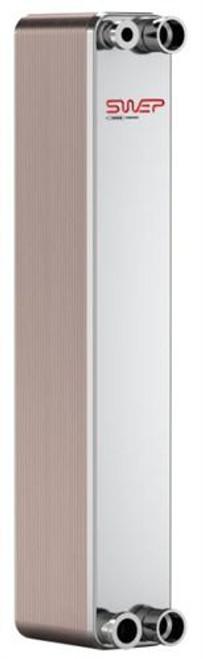 "SWEP B15H 10041-040, Brazed Plate Heat Exchanger, B15Hx40/1P-SC-S 4x1""NPT"
