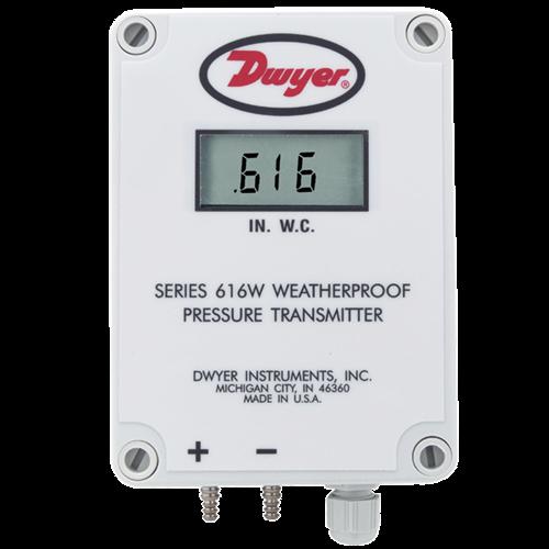"""Dwyer Instruments 616WL-2 0-25"""" WC"""