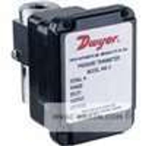 Dwyer Instruments 645-1, Wet/wet differential pressure transmitter, range 0-2 psid