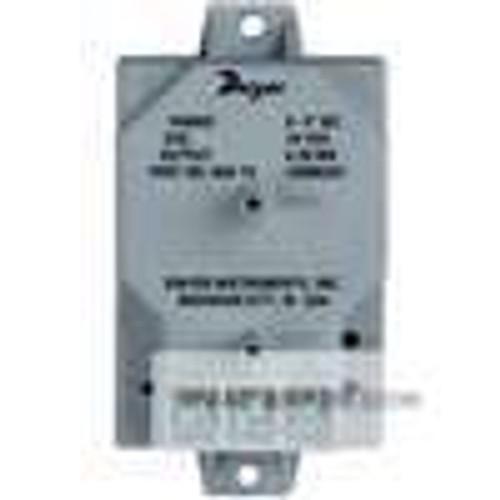 "Dwyer Instruments 668-1, Differential pressure transmitter, range 0-025"" wc"