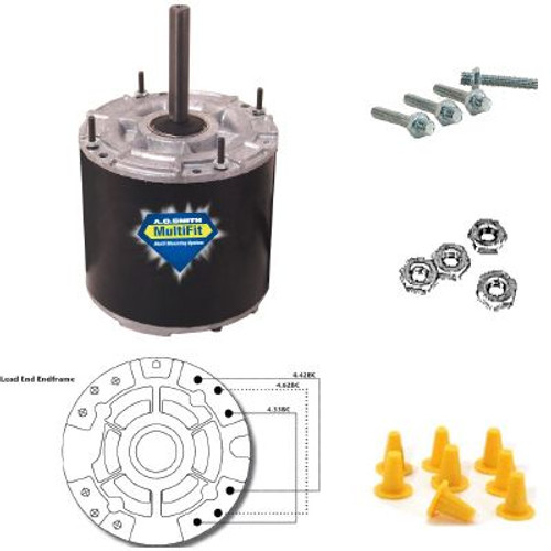 Century Motors 9724 (AO Smith), MULTIFIT MOTOR