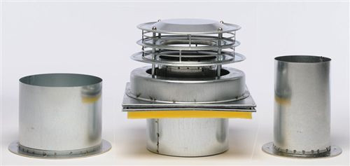 """Williams Furnace 9802, Vent Cap and Tubes for Direct-Vent Furnaces, 9"""" Length"""