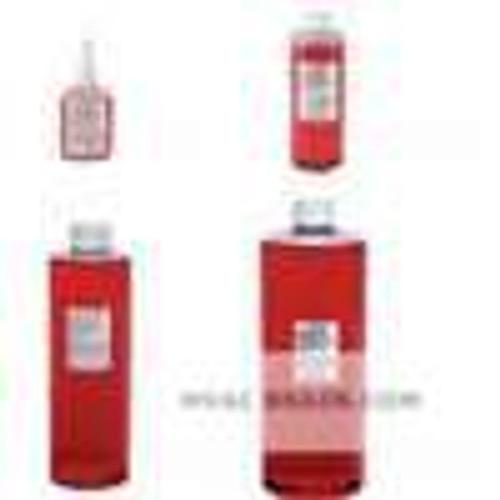 Dwyer Instruments A-102, 4 oz bottle of red gage fluid, 826 sp gr