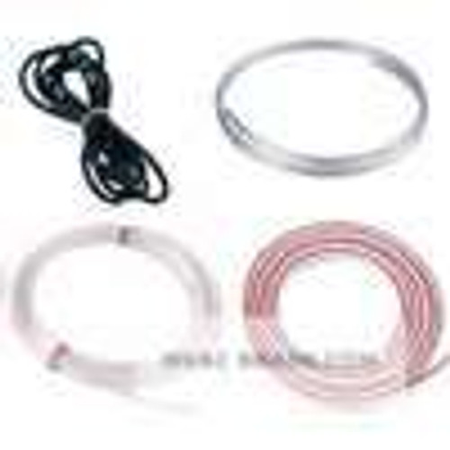 """Dwyer Instruments A-201, Rubber latex tubing has less tendency to kink in storage and occupies less space, thus is best for portable work 3/16"""" ID, 9' length"""