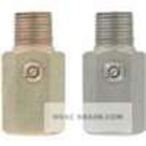 "Dwyer Instruments A-253, Pressure snubber, brass, 1/2"" male/female BSPT"