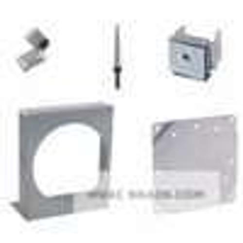 "Dwyer Instruments A-300, Flat aluminum bracket for flush mounting Magnehelic  gage 68"" x 60"" x 1"", 35 lb"