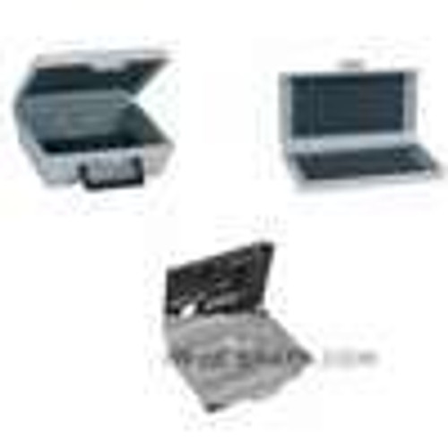 """Dwyer Instruments A-463, Plastic carrying case with foam liner for 475-1-AV air velocity kit - 13-1/2"""" x 10"""" x 2-3/8"""""""
