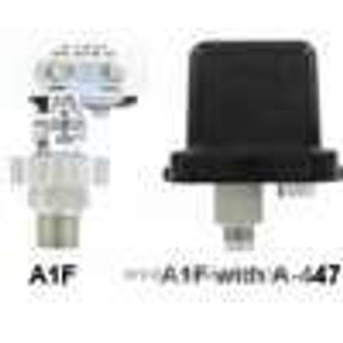 Dwyer Instruments A1F-O-SS-1-3, Pressure switch, range 8-225 psig (055-155 bar), min deadband 8 psig (055 bar), max deadband 25 psig (17 bar)