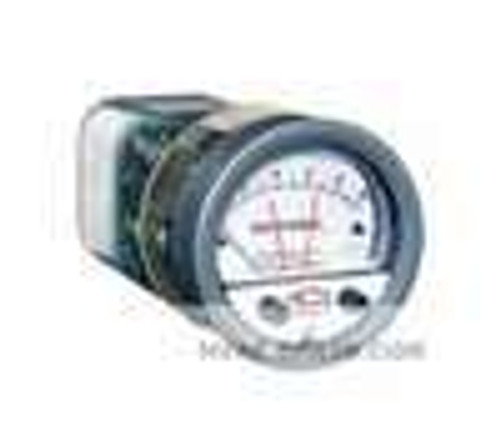 "Dwyer Instruments A3006, Pressure switch/gage, range 0-60"" wc"