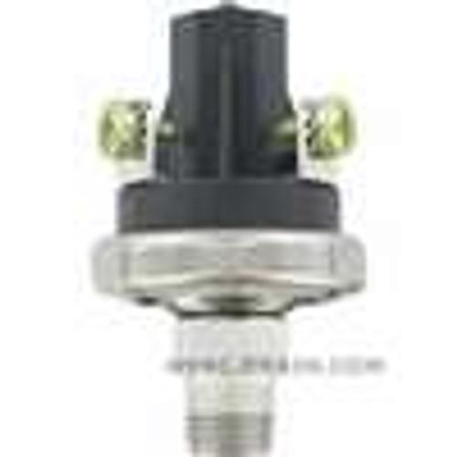 Dwyer Instruments A6-853221, Pressure switch, set point range 91-150  ±10 psi (627-1034  ±069 bar)