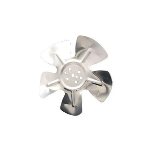 """Packard A61102, Hubless Small Aluminum Fan Blades 6"""" Diameter CCW Rotation"""