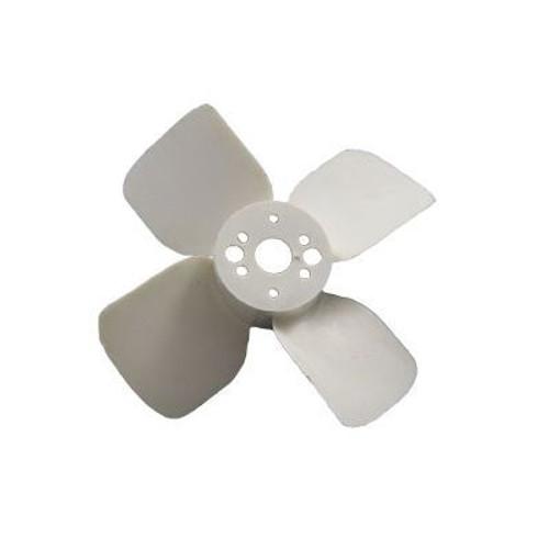 "Packard A61299, Plastic Fan Blades 2 1/2"" Diameter CW Rotation 4 Blades"