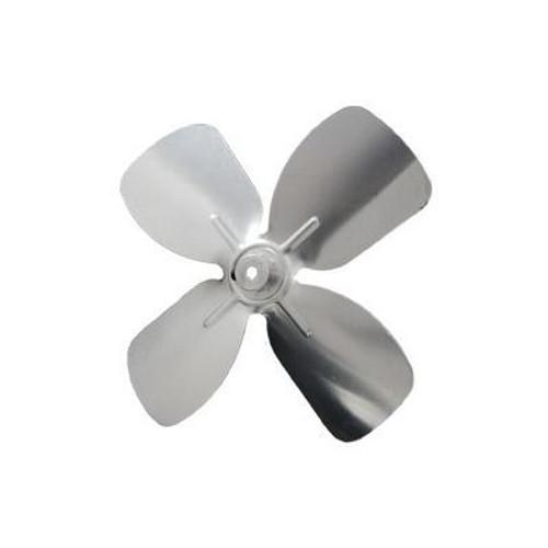 "Packard A61474, 4 And 10 Blade Small Aluminum Fan Blades 3/16"" Bore 5 1/2"" Diameter 4 Blades"