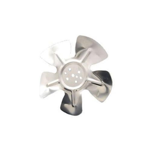 """Packard A61817, Hubless Small Aluminum Fan Blades 8 3/4"""" Diameter CCW Rotation"""