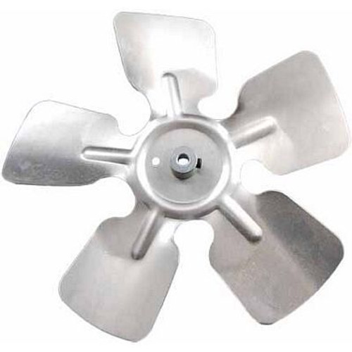 "Packard A63841, Small Aluminum Fan Blades With Hubs 8"" Diameter 1/4"" Bore CW Rotation"
