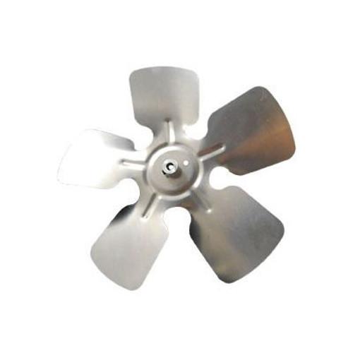 "Packard A66504, Small Aluminum Fan Blades With Hubs 6 1/2"" Diameter 1/4"" Bore CW Rotation"