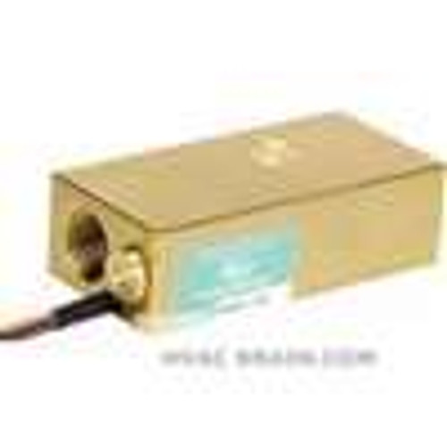 "Dwyer Instruments AFS-132, Adjustable flow switch for oil, 1/2"" NPT conduit connection, brass piston, brass housing"