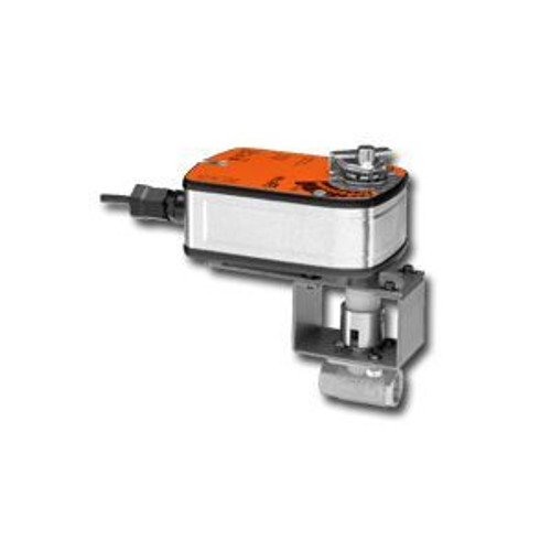 """Belimo B2050VSS-15+LF120-S US, 1/2"""", 2-Way,SS Body, SS Trim, CV15 with Spring, 35in-lb, On/Off, 120V, SW"""