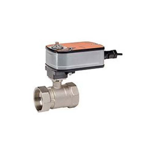 """Belimo B209+LF24-MFT-S US, 2-way CCV, SS Trim, 1/2"""", CV 08"""" CCV w/ Stainless Steel Ball and Stem"""