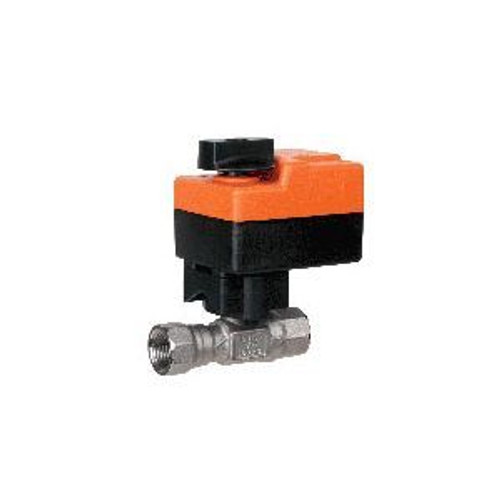 """Belimo B215HT073+TR24-3 US, 2-way, HT-CCV, 1/2"""" NPT, 073CV with Non-Spring Return,18 in-lb ,On/Off,24V"""
