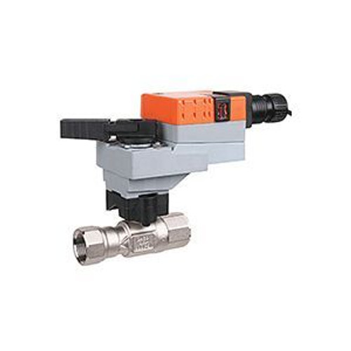 "Belimo B215HT455+LRB24-3, 2-way, HT-CCV, 1/2"" NPT, 455CV with Non-Spring Return,45 in-lb ,On/Off/Floating,24V"