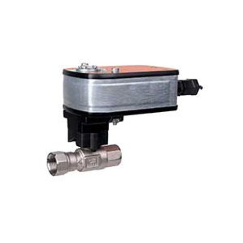 """Belimo B220HT186+LF120 US, 2-way, HT-CCV, 3/4"""" NPT, 186CV with Spring, 35in-lb, On/Off, 120V"""
