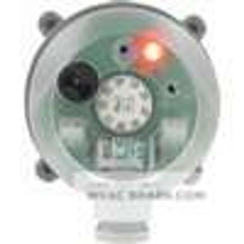 "Dwyer Instruments BDPA-08-2-N, Adjustable differential pressure alarm, range 08-120"" wc, M20 connection"