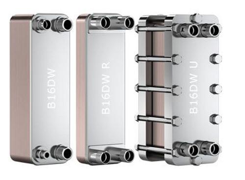 SWEP B16DW 13906-030-2, Brazed Plate Heat Exchanger, B16DWHx30/1P-SC-S 2x22U+2x28U