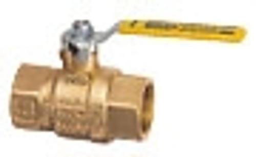 "Cimberio Valve CIM 11-07, 1"" Full port heavy pattern ball valve, Blast/Impact proff stem"