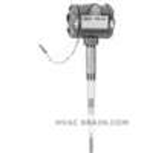 """Dwyer Instruments CLS2-W11RK1-006, Capacitive level switch, weatherproof, 6"""" probe"""