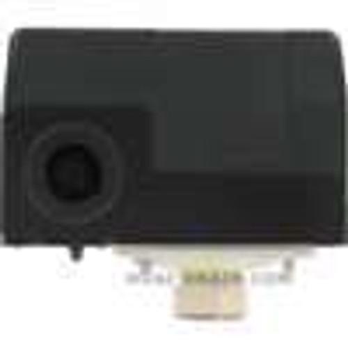 Dwyer Instruments CXA-S2, Water pump pressure switch, NC, range 30-100 psig (21-69 bar), approx adj deadband 20-35 psig (14-24 bar), max pressure 179 psig (123 bar)