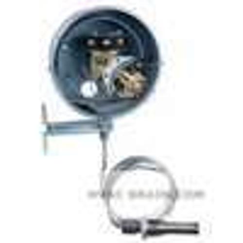 Dwyer Instruments DA-7035-153-11N, Temperature switch, range 100-500¡F (40-260¡C), max temp 600¡F (315¡C), min deadband 100¡F (56¡C)