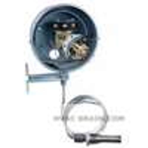 Dwyer Instruments DA-7035-153-9N, Temperature switch, range 350-550¡F (175-290¡C), max temp 600¡F (315¡C), min deadband 50¡F (28¡C)