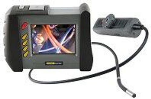 """General Tools DCS1800 High-Performance Wireless Recording Video Borescope System with 55mm DIA x 1m Long Probe and 35"""" Screen"""