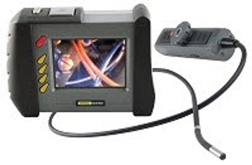 """General Tools DCS1800ART High Performance Wireless, Articulating, Recording Video Borescope System with Articulating 6mm DIA x Long Probe and 35"""" Screen"""