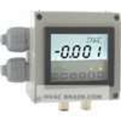 """Dwyer Instruments DHII-002, Differential pressure controller, selectable engineering units: 2500"""" wc, 6350 mm wc, 0635 cm wc, 0467 mm Hg, 0623 mbar, 6228 Pa, 0623 hPa, 0114 oz/in"""